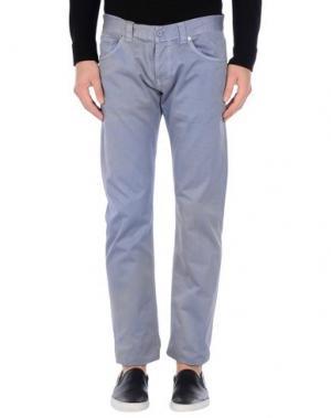 Повседневные брюки DONDUP. Цвет: сиреневый