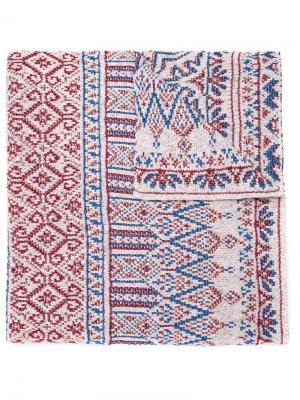 Knitted scarf Cecilia Prado. Цвет: белый
