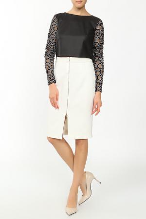 Блуза MSW ATELIER. Цвет: черный