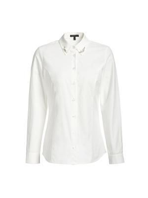 Блузка APART. Цвет: кремовый, молочный