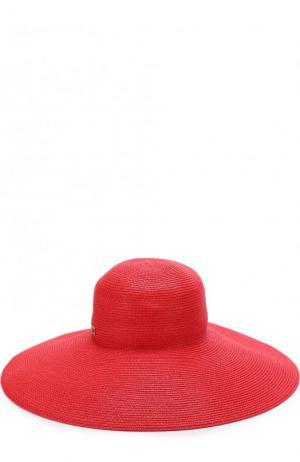 Шляпа Eric Javits. Цвет: красный