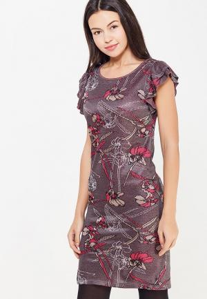 Платье Motivi. Цвет: серый