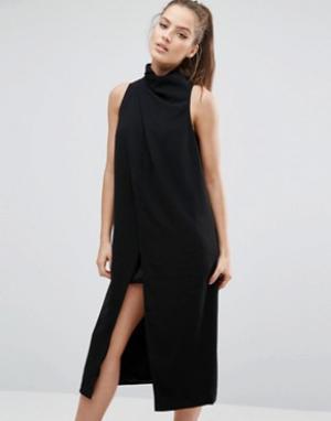 C/meo Collective Платье Never Be Like You. Цвет: черный