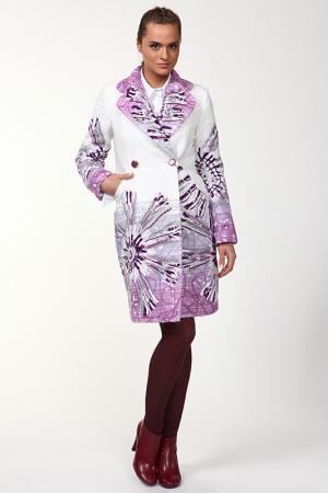 Пальто Yuko-Selena. Цвет: белый