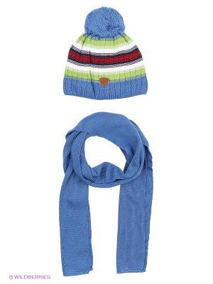 Шапка и шарф Agbo. Цвет: салатовый