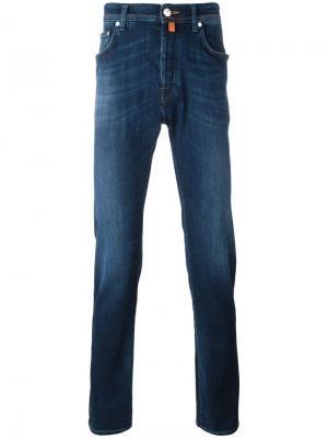 Узкие джинсы Jacob Cohen. Цвет: синий