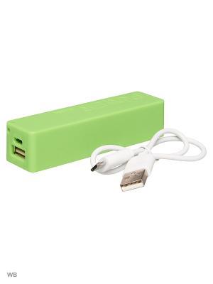Зарядное устройчство Power Bank 2600 mAh TERRITORY. Цвет: зеленый