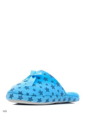 Тапочки Modis. Цвет: голубой