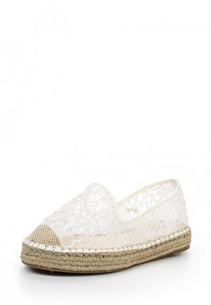 Эспадрильи WS Shoes. Цвет: белый