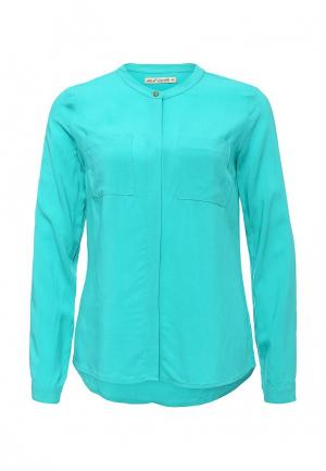 Блуза Sela. Цвет: бирюзовый