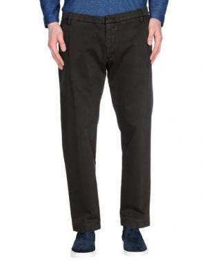 Повседневные брюки MICHAEL COAL. Цвет: темно-коричневый