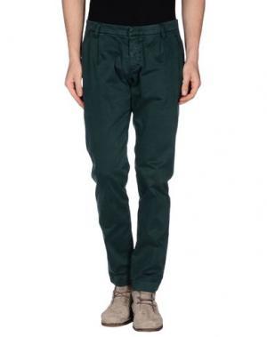 Повседневные брюки MICHAEL COAL. Цвет: зеленый