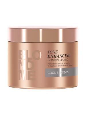 BlondMe Бондинг - Маска для поддержания холодных оттенков, 200 мл Schwarzkopf Professional. Цвет: фиолетовый