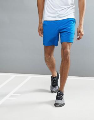 Bjorn Borg Синие шорты Performance. Цвет: синий