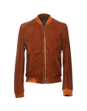 Куртка BLK DNM. Цвет: коричневый