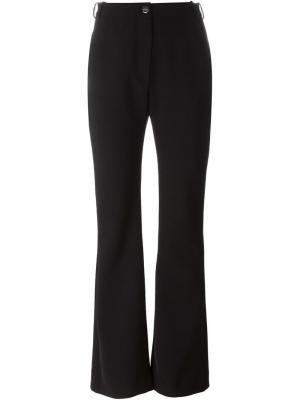 Расклешенные брюки Carven. Цвет: чёрный