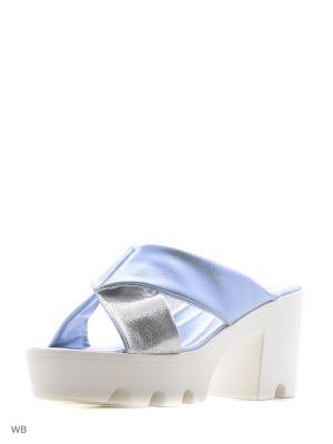Сабо Wilmar. Цвет: голубой, серебристый