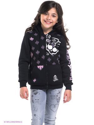 Толстовка Monster High. Цвет: черный