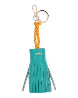 Брелок для ключей POMIKAKI. Цвет: зеленый
