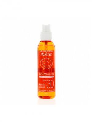 Avene Suncare, солнцезащитное масло SPF 30, 200 мл. Цвет: рыжий