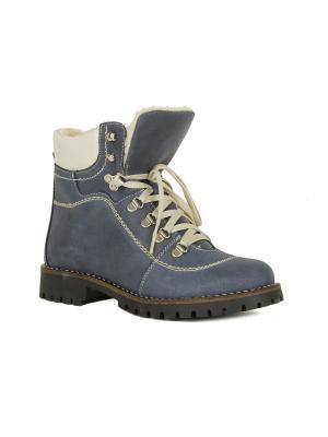 Ботинки alessandro. Цвет: серо-голубой