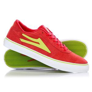 Кеды кроссовки низкие  Manchester Red Lime Lakai. Цвет: красный