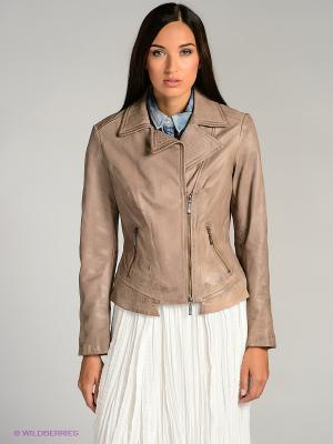 Куртка city girl. Цвет: бежевый