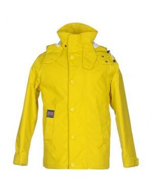 Куртка HENRI LLOYD. Цвет: желтый