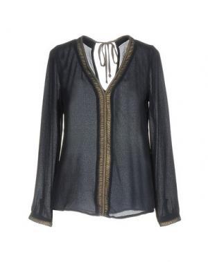 Блузка AXARA PARIS. Цвет: темно-синий