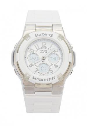 Часы Casio. Цвет: белый