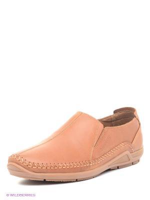 Туфли Shoiberg. Цвет: коричневый