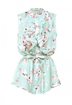 Блуза LO. Цвет: разноцветный