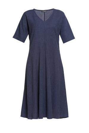 Платье женское 188065 Cyrille Gassiline. Цвет: синий