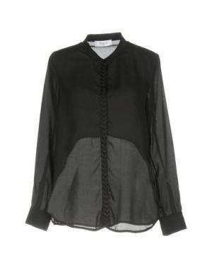 Pубашка AXARA PARIS. Цвет: черный