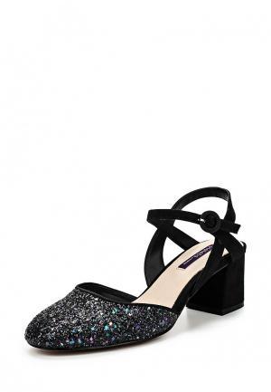 Туфли Violeta by Mango. Цвет: черный