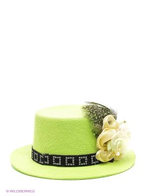 Шляпка Doggy Style. Цвет: зеленый