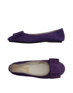 Балетки VIRREINA. Цвет: фиолетовый