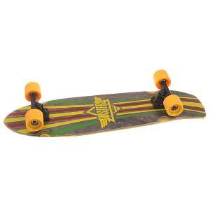 Скейт круизер  Keen Cruiser Rasta 8.25 x 31 (78.7 см) Dusters. Цвет: зеленый