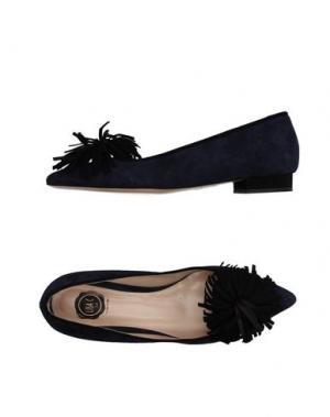 Туфли LISA C BIJOUX. Цвет: синий