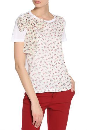 Блузка RED Valentino. Цвет: 001