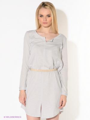 Платье American Outfitters. Цвет: светло-серый, золотистый