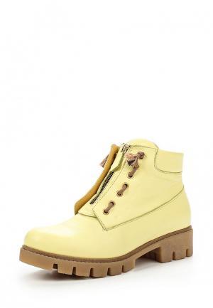 Ботинки Allegri. Цвет: желтый