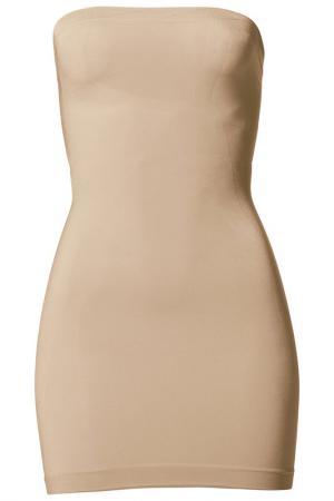 Платье Apart. Цвет: телесный