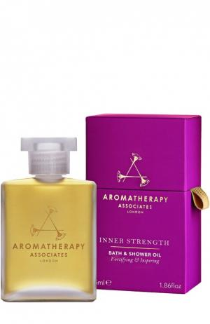 Укрепляющее масло Inner Strength для ванны и душа Bath & Shower Oil Aromatherapy Associates. Цвет: бесцветный