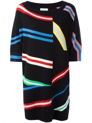 Вязаное платье Barrie. Цвет: чёрный