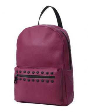 Рюкзаки и сумки на пояс BORSETTERIA Napoli 1985. Цвет: пурпурный