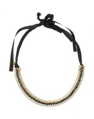 Ожерелье NUR. Цвет: зеленый