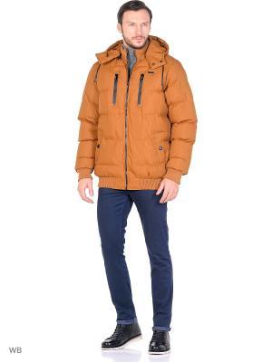 Куртка Cropp. Цвет: коричневый, золотистый