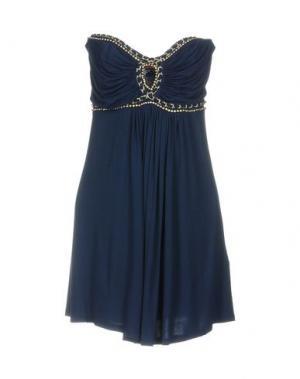 Короткое платье MET MIAMI COCKTAIL. Цвет: ярко-синий