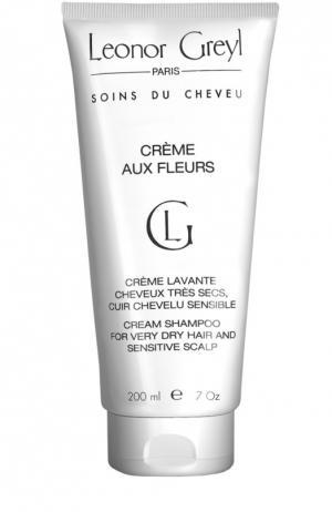 Крем-шампунь с экстрактами цветов Crème aux Fleurs Leonor Greyl. Цвет: бесцветный